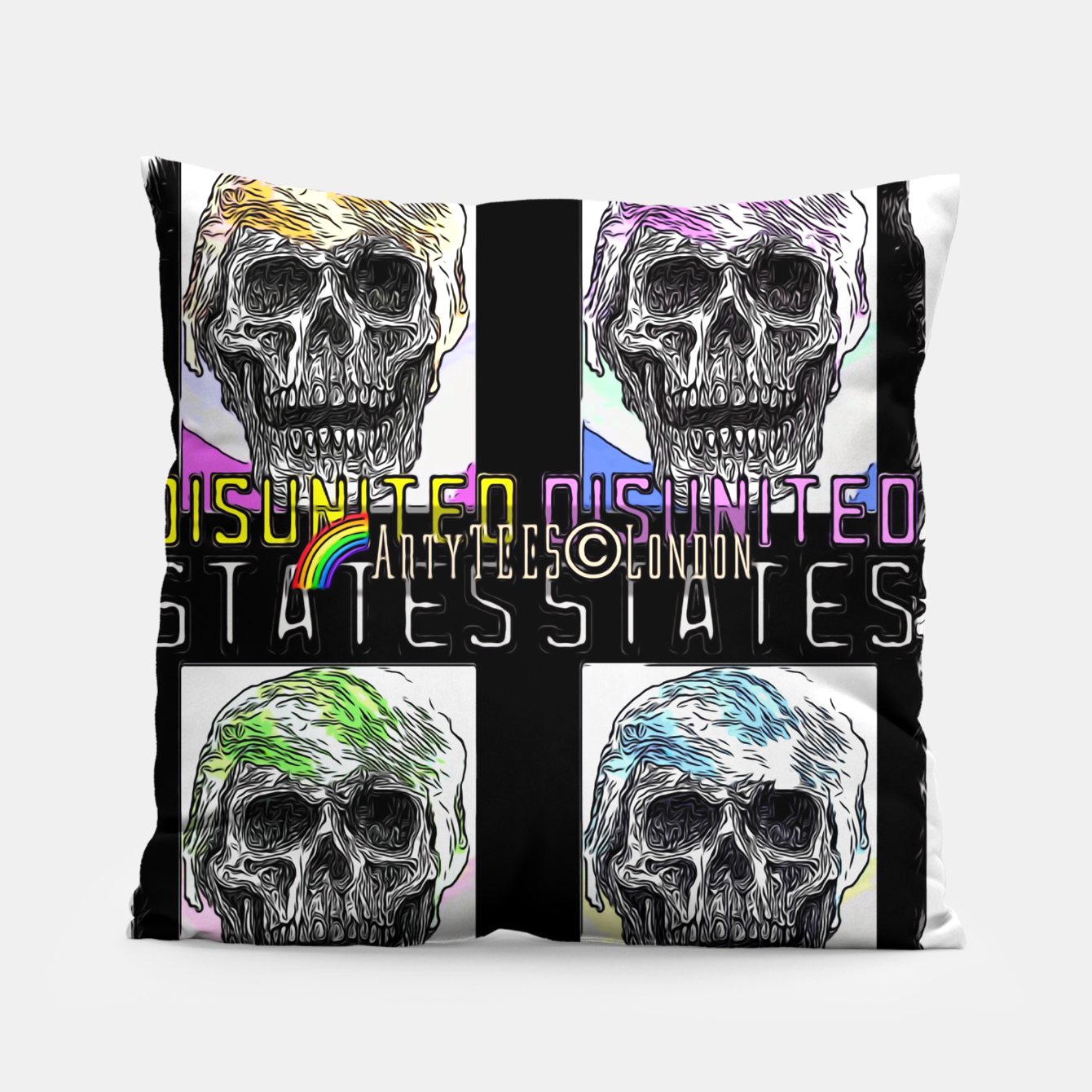 Image of Disunited States Pillow - Live Heroes
