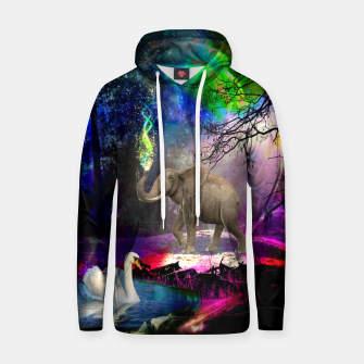 Magical forest Cotton hoodie thumbnail image