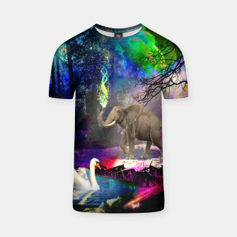 Miniature de image de Magical forest T-shirt, Live Heroes