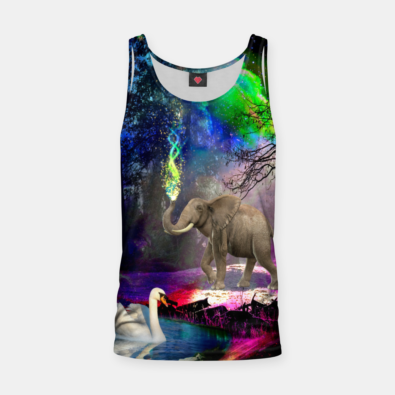 Image of Magical forest Tank Top - Live Heroes