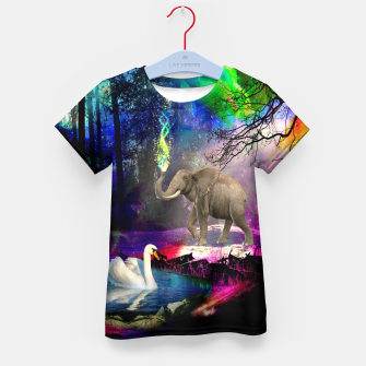 Miniature de image de Magical forest Kid's t-shirt, Live Heroes