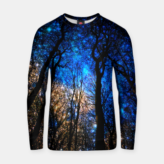 Thumbnail image of magical forest Cotton sweater, Live Heroes