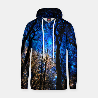 Thumbnail image of magical forest Cotton hoodie, Live Heroes