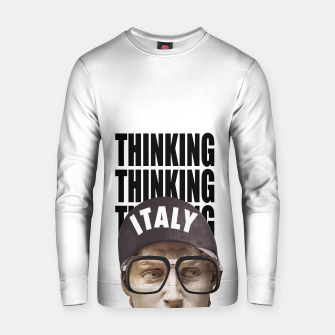 Thumbnail image of THINKER Cotton sweater, Live Heroes