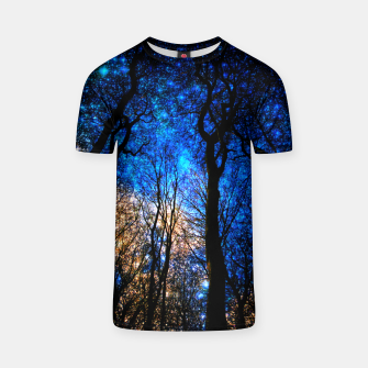Thumbnail image of magical forest T-shirt, Live Heroes