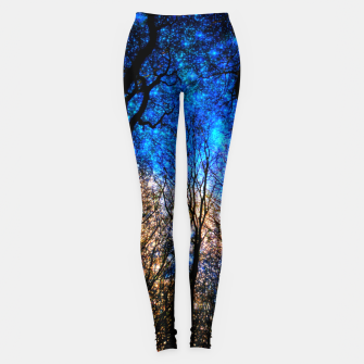 Thumbnail image of magical forest Leggings, Live Heroes