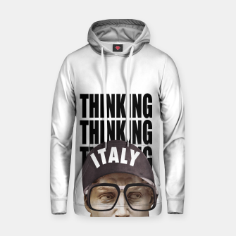 Thumbnail image of THINKER Cotton hoodie, Live Heroes