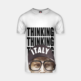 Thumbnail image of THINKER T-shirt, Live Heroes