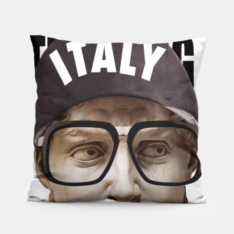 Thumbnail image of THINKER Pillow, Live Heroes