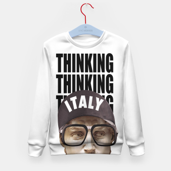 Thumbnail image of THINKER Kid's sweater, Live Heroes