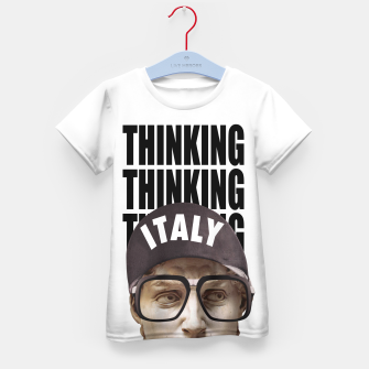 Thumbnail image of THINKER Kid's t-shirt, Live Heroes