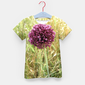 Thumbnail image of Flower Kid's t-shirt, Live Heroes