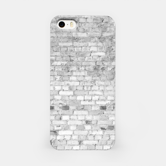 Thumbnail image of White Washed Stone Brick Wall iPhone Case, Live Heroes