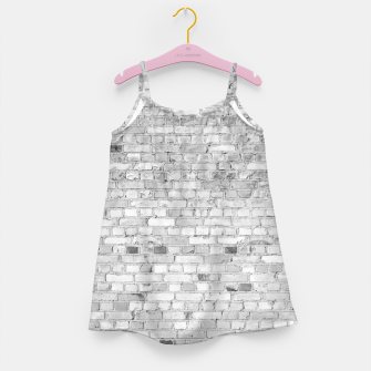 Thumbnail image of White Washed Stone Brick Wall Girl's dress, Live Heroes