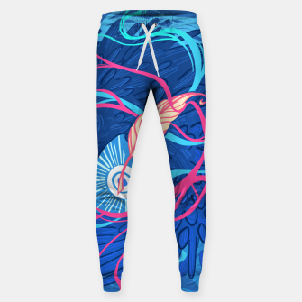 Thumbnail image of A Raven Memory Cotton sweatpants, Live Heroes