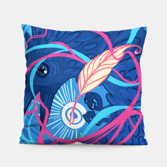 A Raven Memory Pillow miniature