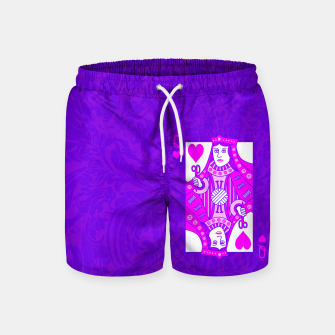 Queen of Crochet Swim Shorts thumbnail image