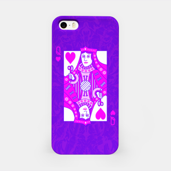 Thumbnail image of Queen of Crochet iPhone Case, Live Heroes