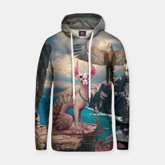 Thumbnail image of Birds with Cat Cotton hoodie, Live Heroes
