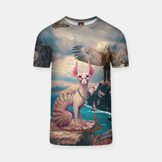 Miniature de image de Birds with Cat T-shirt, Live Heroes