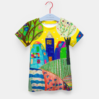 Thumbnail image of Ragnor Design | Dress Yourself | #rda80 Kid's t-shirt, Live Heroes