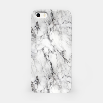 Thumbnail image of Monochrome Marble iPhone Case, Live Heroes