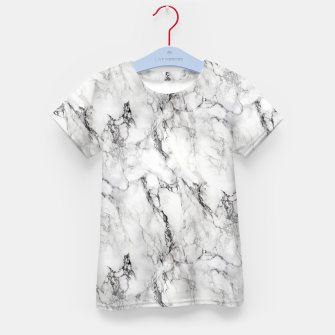 Thumbnail image of Monochrome Marble Kid's t-shirt, Live Heroes