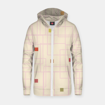 Thumbnail image of Let's Play Cotton zip up hoodie, Live Heroes