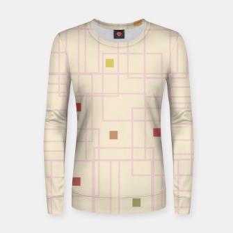 Thumbnail image of Let's Play Woman cotton sweater, Live Heroes