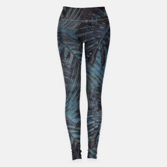 Thumbnail image of tropical pattern Legginsy, Live Heroes