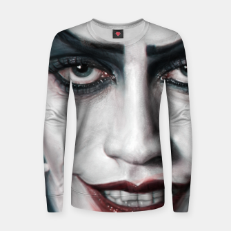 Thumbnail image of Frank N Furter Woman cotton sweater, Live Heroes