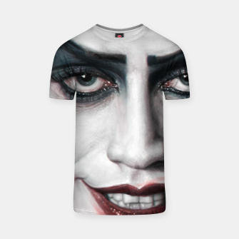 Thumbnail image of Frank N Furter T-shirt, Live Heroes
