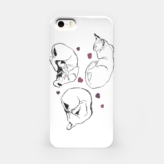 Thumbnail image of Cats&Line iPhone Case, Live Heroes