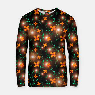Thumbnail image of Flowers with Stars  Cotton sweater, Live Heroes