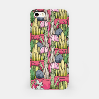 Thumbnail image of Cactus pots iPhone Case, Live Heroes