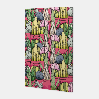 Thumbnail image of Cactus pots Canvas, Live Heroes