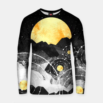 Thumbnail image of Stars of the galaxy Cotton sweater, Live Heroes