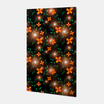 Thumbnail image of Flowers with Stars  Canvas, Live Heroes