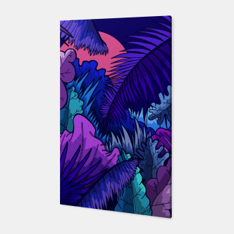 Thumbnail image of  A warm jungle night Canvas, Live Heroes