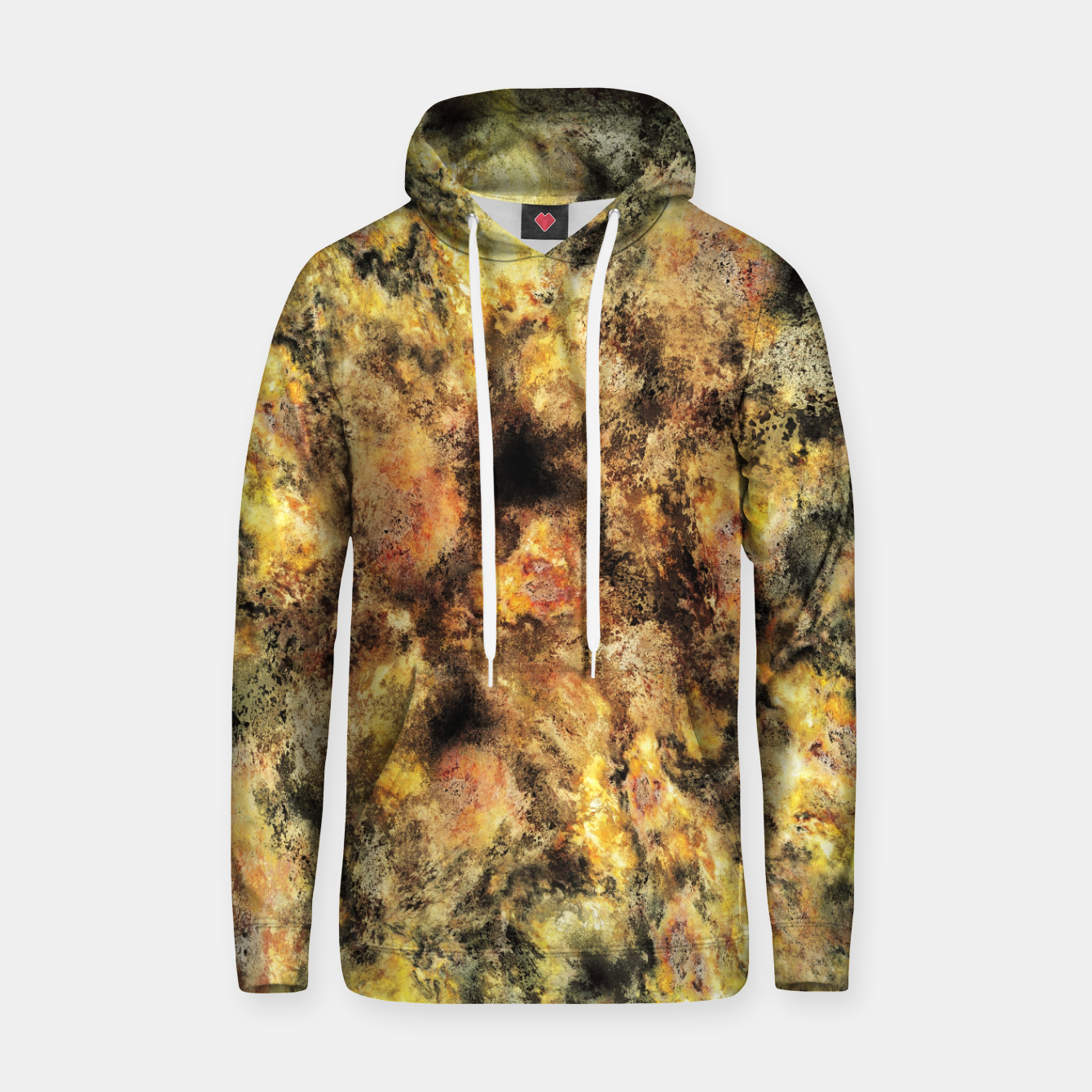 Image of Listen to the sky Cotton hoodie - Live Heroes