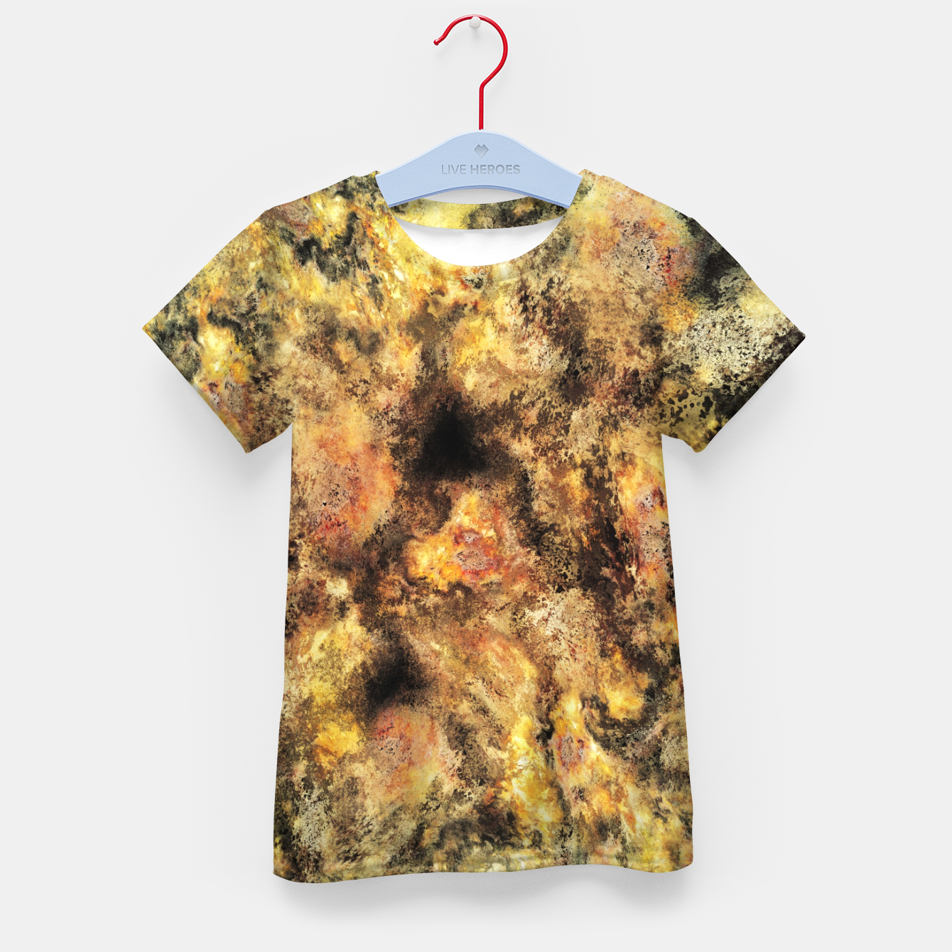 Image of Listen to the sky Kid's t-shirt - Live Heroes