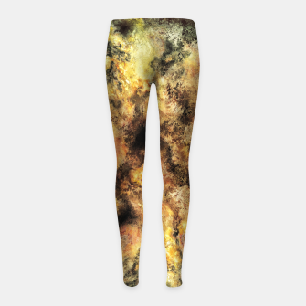 Thumbnail image of Listen to the sky Girl's leggings, Live Heroes