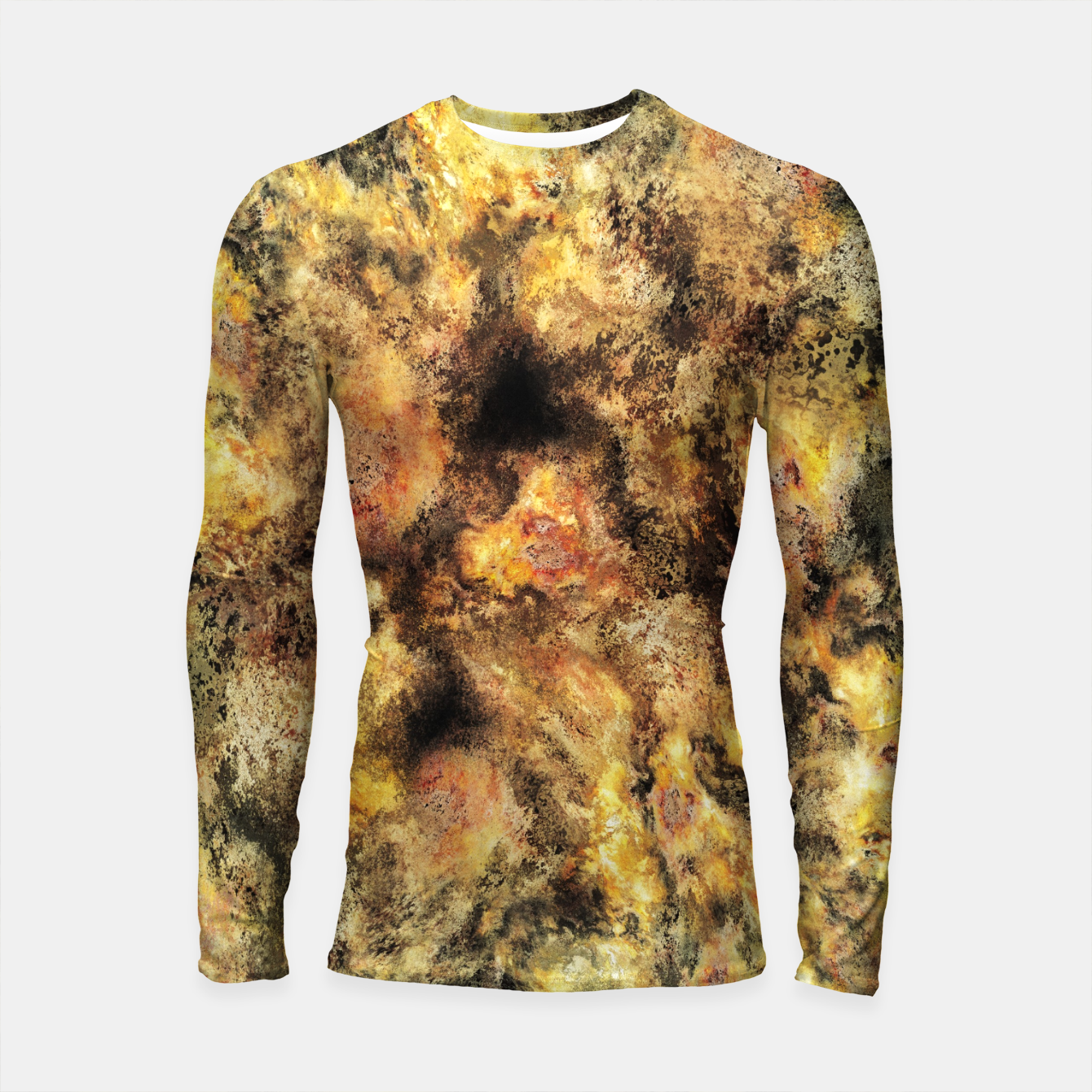 Image of Listen to the sky Longsleeve rashguard  - Live Heroes