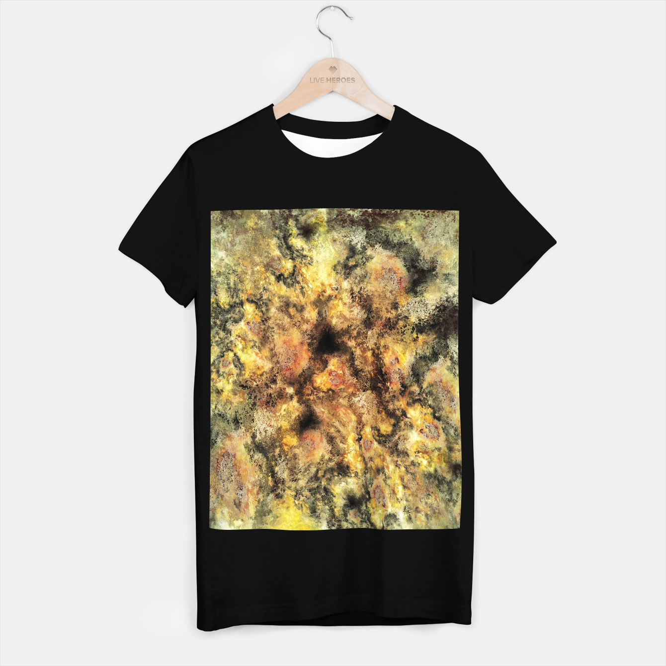 Image of Listen to the sky T-shirt regular - Live Heroes