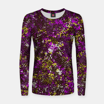 Thumbnail image of Colorful dots 798 Woman cotton sweater, Live Heroes