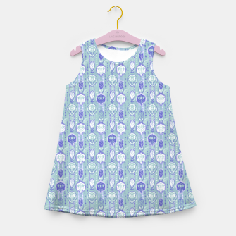 Thumbnail image of Feather Girl's summer dress, Live Heroes