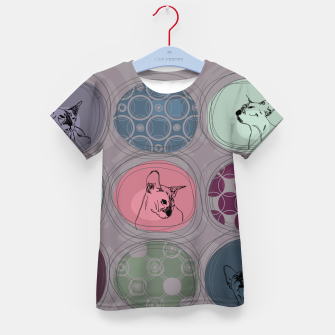 Thumbnail image of Cats&Patchwork Kid's t-shirt, Live Heroes