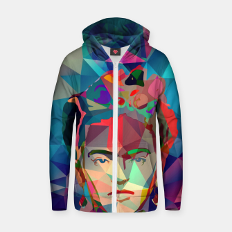 Frida Forever Cotton zip up hoodie thumbnail image