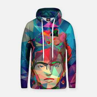 Thumbnail image of Frida Forever Cotton hoodie, Live Heroes