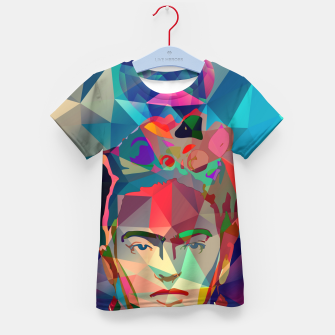 Thumbnail image of Frida Forever Kid's t-shirt, Live Heroes